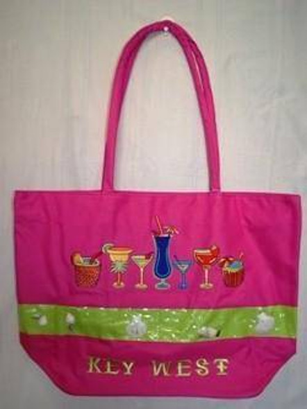 Drinks Key West Beach Bag