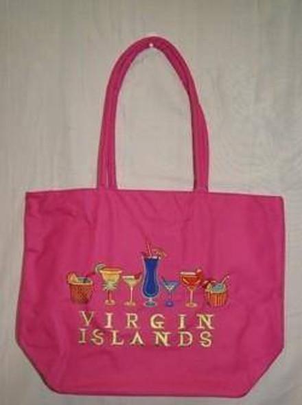 Drinks Virgin Islands Beach Bag