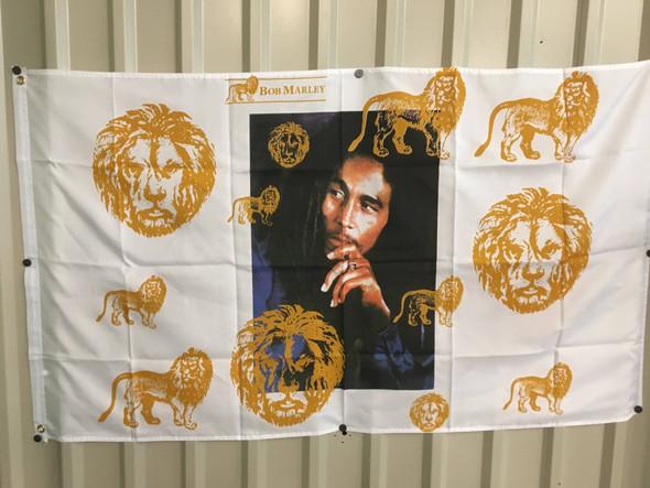 Bob Marley Lions Flag 3x5 ft. Standard