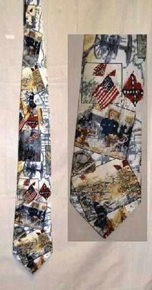 Civil War Neck Tie