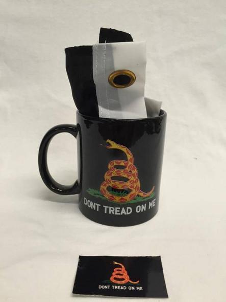Black Gadsden Mug