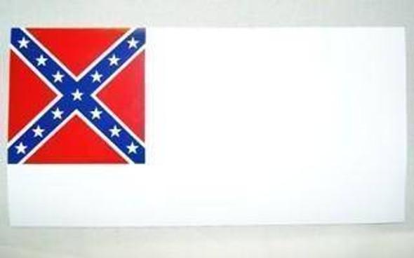 2nd National Confederate Bumper Sticker