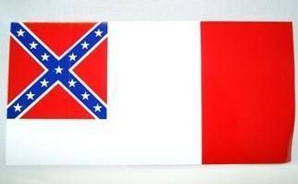 3rd National Confederate Bumper Sticker