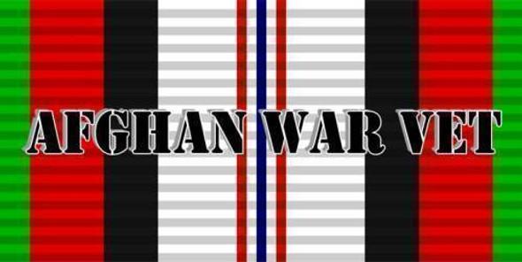 Afghanistan Veteran Bumper Stick