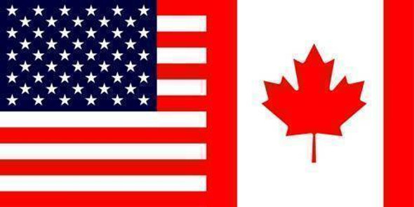 US/Canada Bumper Sticker