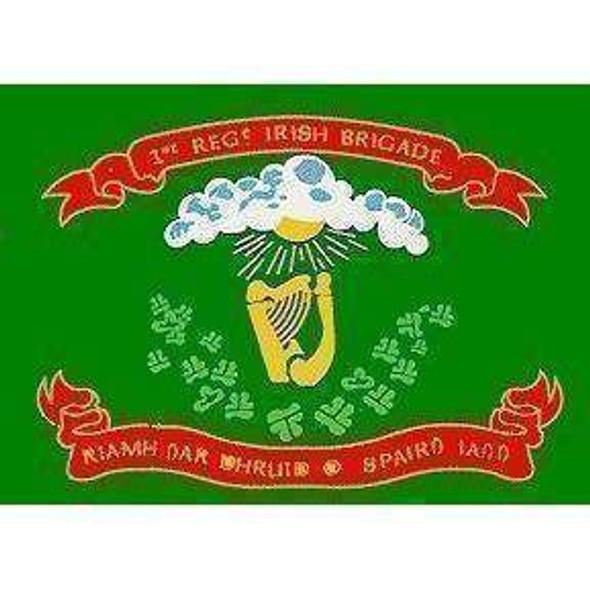 1st Regiment Irish Brigade Flag 3x5 ft. - Cotton