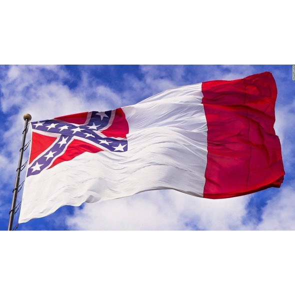 3rd National Confederate Cotton Flag 4x6 ft.