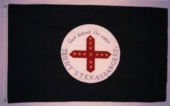 3'x5' 8th Texas Cavalry Regiment Flag Cotton