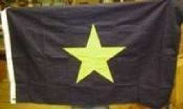 Burnet's Texas Republic Cotton Flag 2x3 ft.
