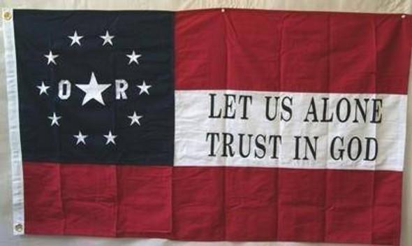 6th Louisiana Orleans Rifles Cotton Flag 3 x 5 ft.