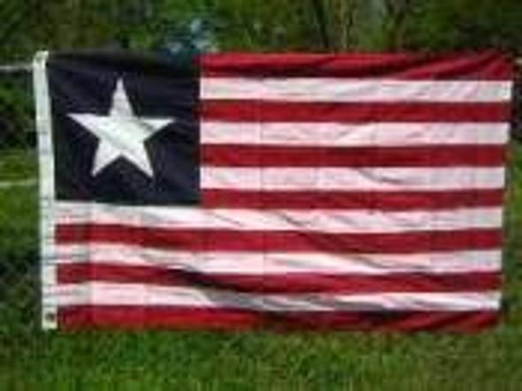 Florida Secession Flag Cotton 3 x 5 ft. Texas Navy