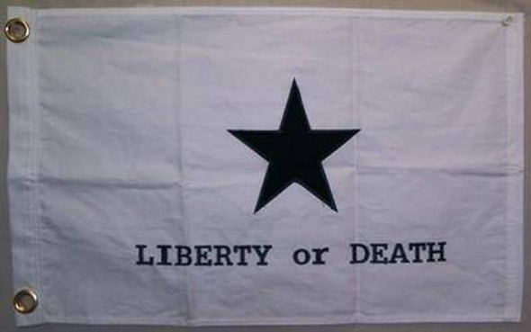 Goliad Texas Battle Cotton Flag 16 x 24 inch with grommets Troutman Flag