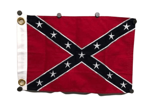 12x18 inch With Grommets Rebel Cotton Flag