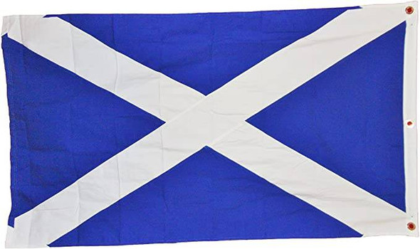Scotland Flag St. Andrew's Cross Cotton 3x5 ft