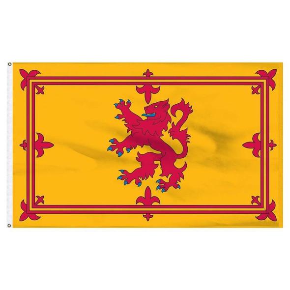 Scotland Lion Rampant Cotton Flag 3 x 5 ft.