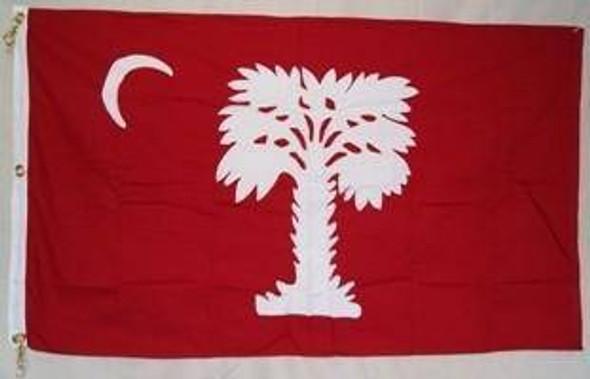 South Carolina Big Red Flag 3x5 ft Cotton