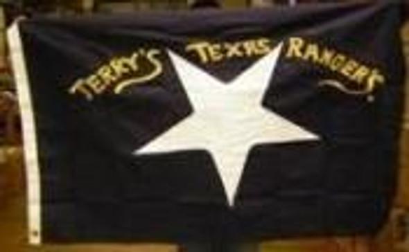 3'x5' Terry's Texas Rangers Flag Cotton