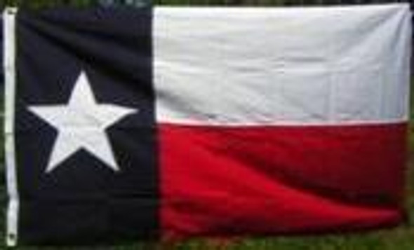 16x24 inch Texas State Flag in Cotton with grommets
