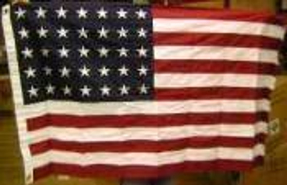 35 Star USA Flag - Civil War Union 3x5 Cotton