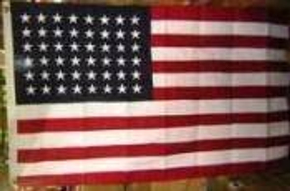 American Flag 48 Star - 1912 to 1959 Cotton