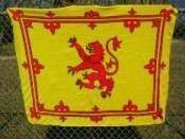 Scotland Lion Rampant Fleece Blanket