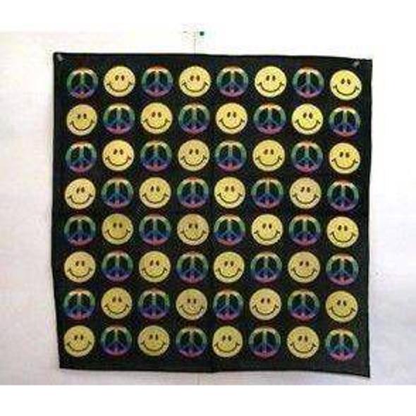 Smile and Peace Bandana