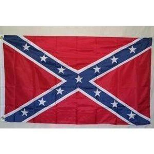 10x15 ft Rebel Flag Confederate Flag Nylon Embroidered 10 x 15 ft.
