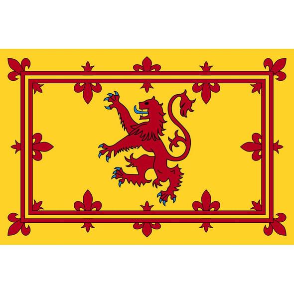 Scotland Royal Banner Nylon Embroidered 2 x 3 ft.