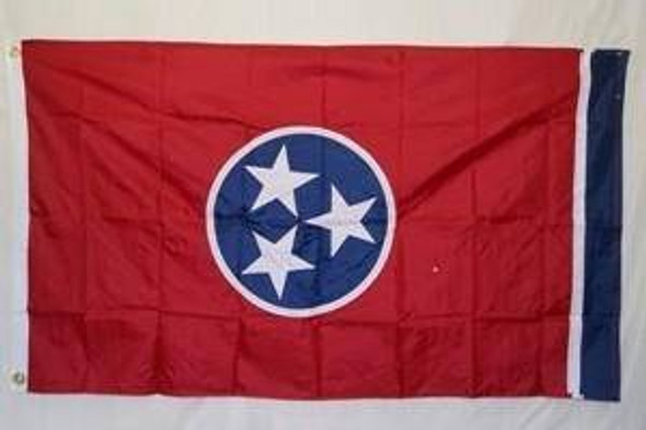 State of Tennessee Flag Nylon Embroidered 3 x 5 ft. 300D