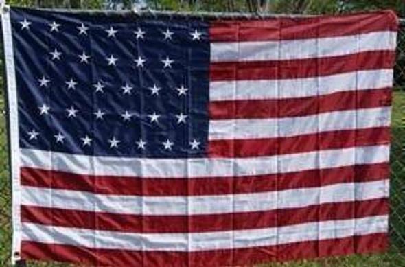 31 Star USA Flag - Nylon Embroidered California 4 X 6 ft.