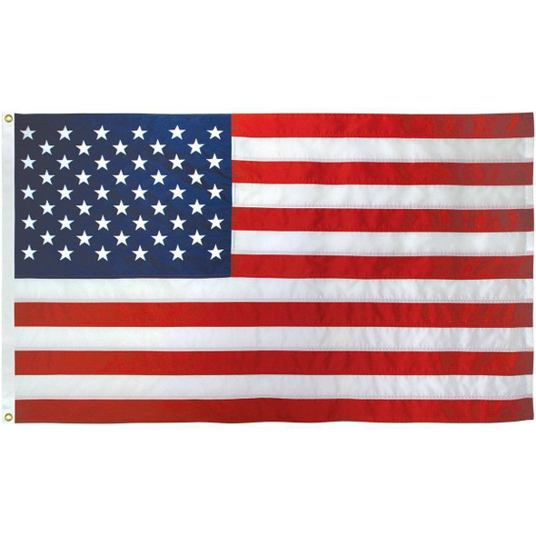4x6 American Flag Nylon Embroidered Made in USA