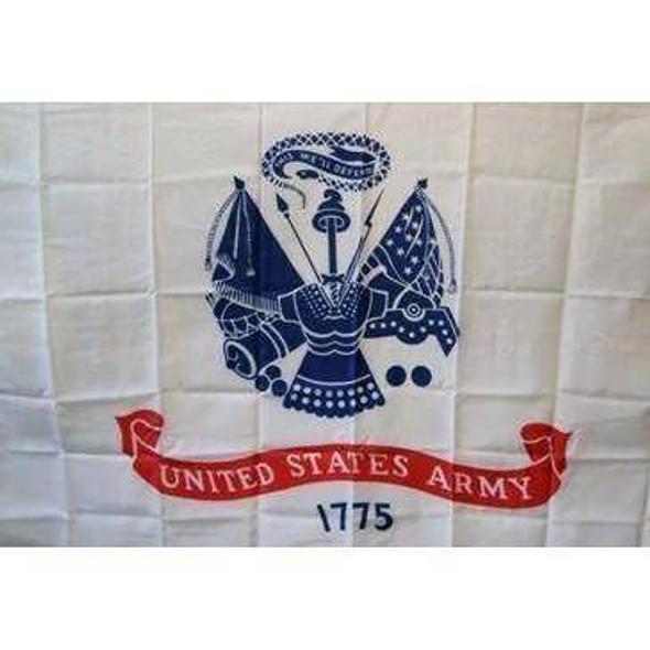 US Army Nylon Printed Flag 3 x 5 ft.