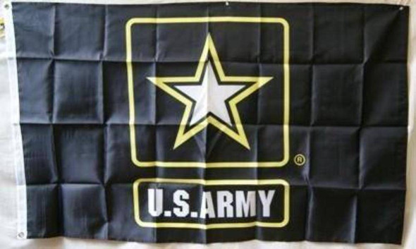 US Army Star Flag - Nylon Printed 3 x 5 ft.