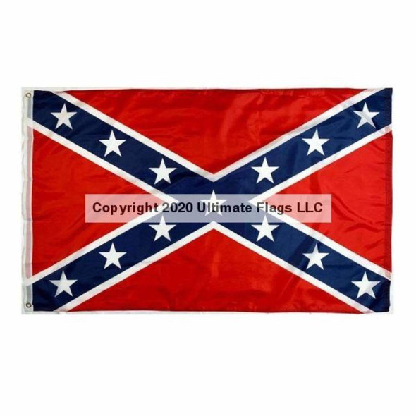 Rebel Flag - Confederate Flag Nylon Printed