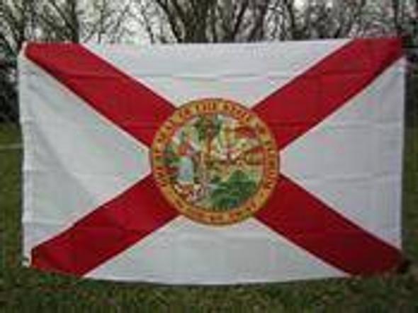 4'x6' Florida Flag Nylon Printed