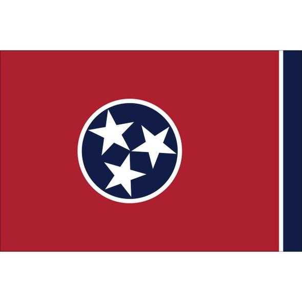 Tennessee Nylon Printed Flag 3 x 5 ft.