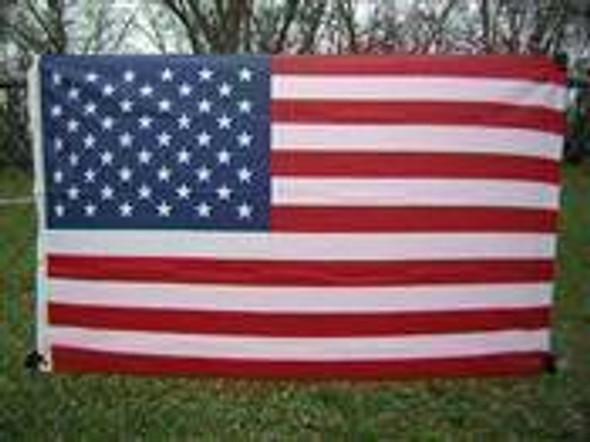 3x5 USA Flag - 50 Star - Nylon Printed Flag