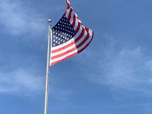 50 Star USA Flag - Nylon Printed - 5 x 8 ft Jumbo
