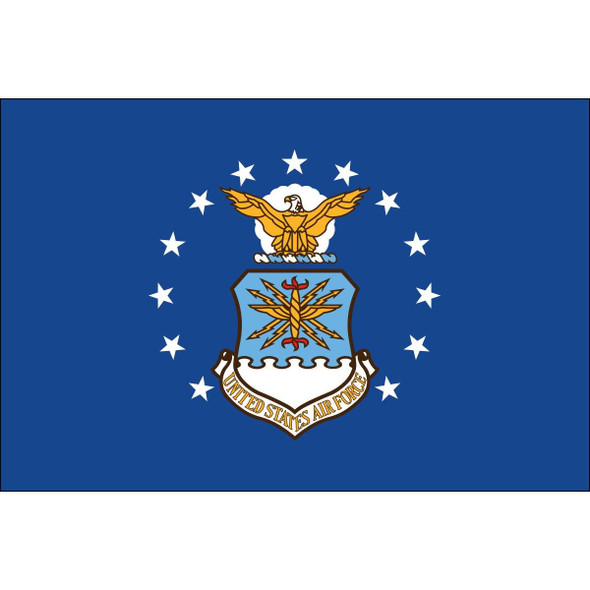 Air Force Flag - Double Sided Nylon Embroidered