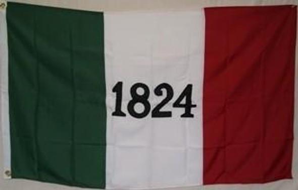 Alamo 1824 2 Ply Nylon Embroidered Flag 3x5 ft.