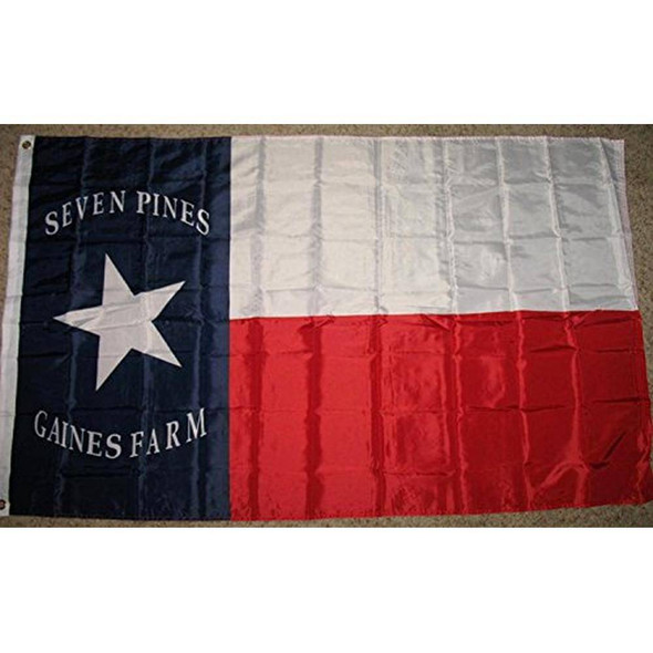 Hood's Texas Brigade 2 ply Nylon Embroidered Flag 3x5 ft