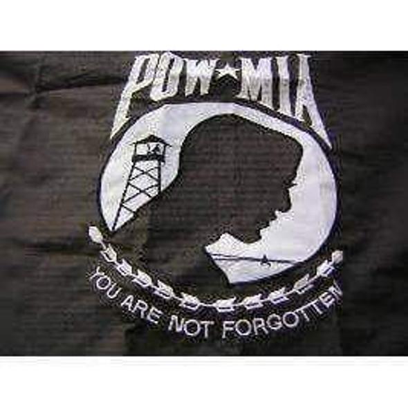 POW MIA Flag - Outdoor 2ply  Nylon Embroidered 3x5 ft