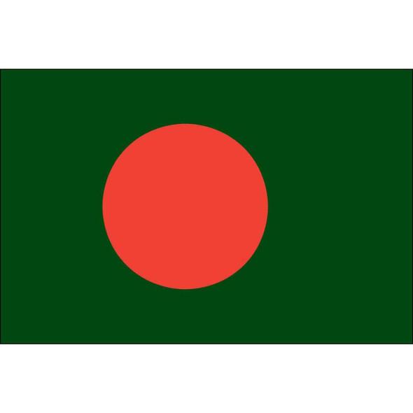 Bangladesh Flag 4 X 6 Inch pack of 10