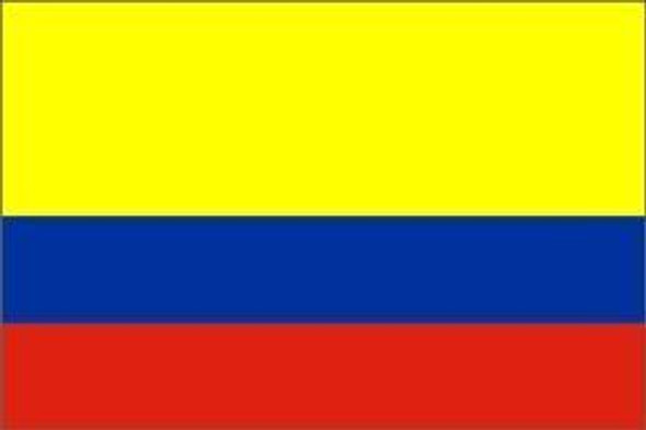 Colombia Flag, Colombian Flag 4 X 6 Inch pack of 10