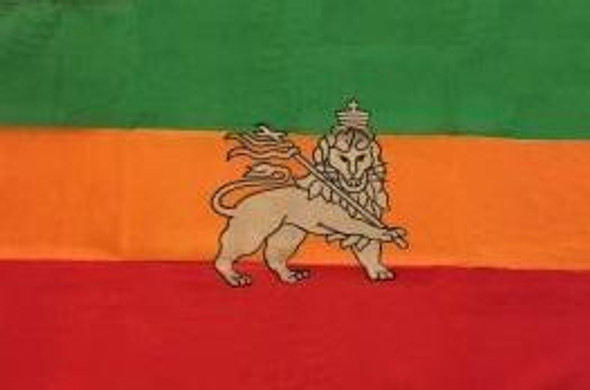 Lion of Judah, Ethiopia Lion Flag 2 X 3 ft. Junior