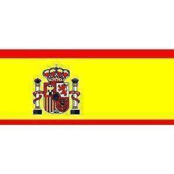 Spain Flag 4 X 6 Inch pack of 10