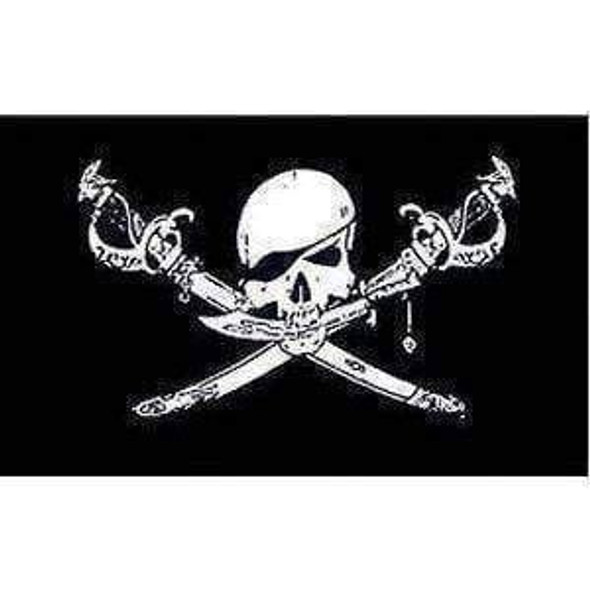Pirate Flag, Brethren Of the Coast Jolly Roger Flag 4 X 6 Inch pack of 10
