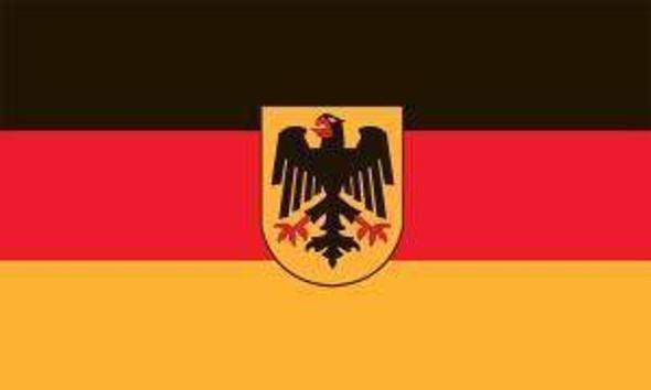 German w/Eagle Flag 12 x 18 inch on Stick