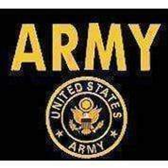U.S. Army Gold Flag 4 X 6 Inch pack of 10