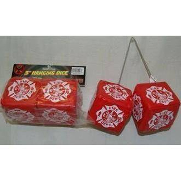 Fire Department Hanging Dice